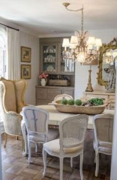 Marvelous French Country Dinning Room Table Design40