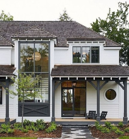 Modern Farmhouse Exterior Design29