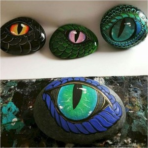 Smart Painted Rock Ideas34