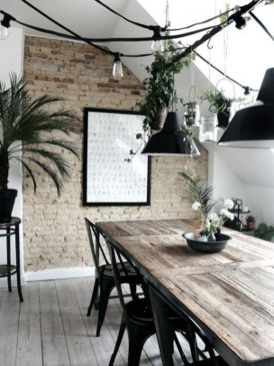 Stunning Plant For Your Dinning Room Ideas13