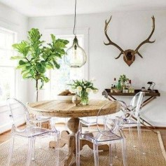 Stunning Plant For Your Dinning Room Ideas17