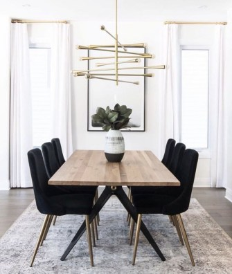 Best Modern Dining Room Decoration Ideas33