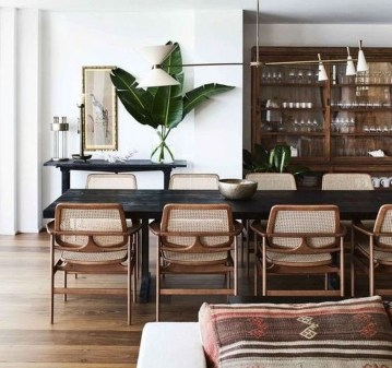 Best Modern Dining Room Decoration Ideas38