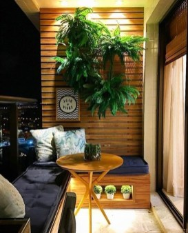 Comfy Apartment Balcony Decorating11