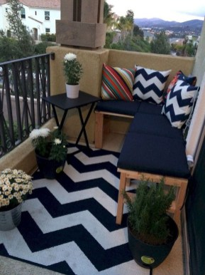 Comfy Apartment Balcony Decorating35