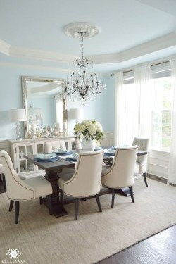 Stunning Country Dining Room Design Ideas18