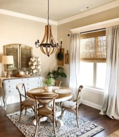 Stunning Country Dining Room Design Ideas21