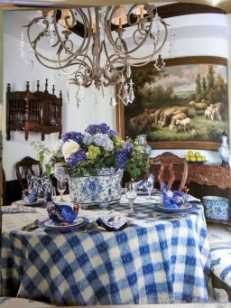 Stunning Country Dining Room Design Ideas27