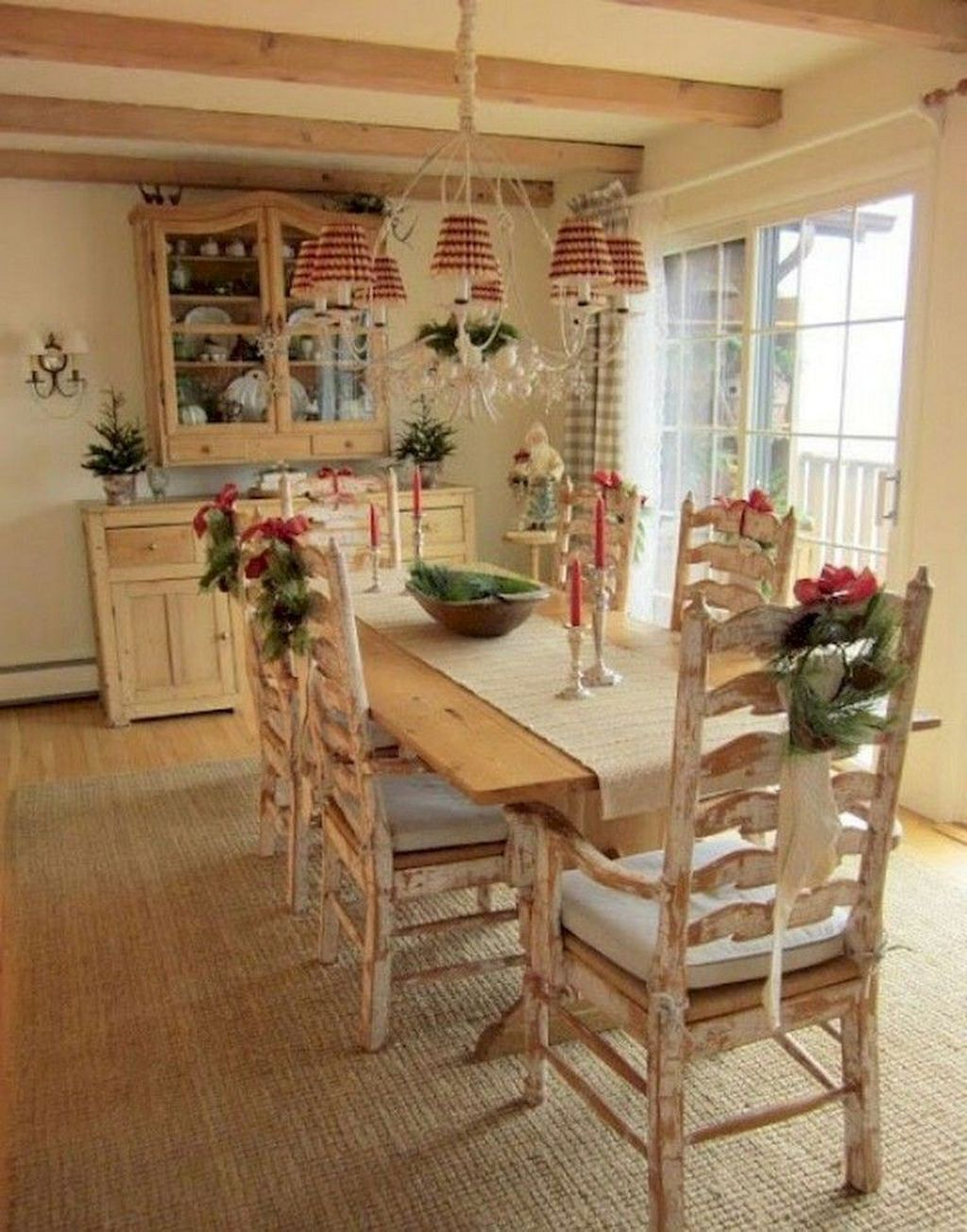 Stunning Country Dining Room Design Ideas38