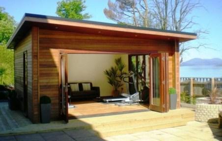 Awesome Comfy Backyard Studio Ideas18