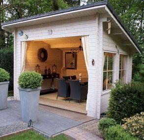 Awesome Comfy Backyard Studio Ideas19