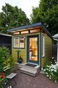 Awesome Comfy Backyard Studio Ideas30