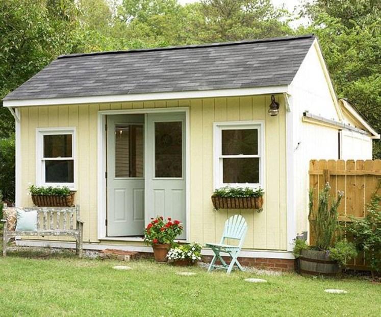 Awesome Comfy Backyard Studio Ideas35
