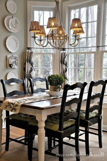 Awesome Country Dining Room Table Decor Ideas07
