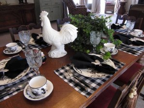Awesome Country Dining Room Table Decor Ideas21