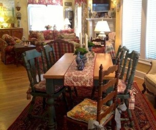 Awesome Country Dining Room Table Decor Ideas27