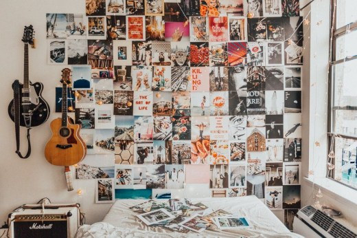 Awesome Creative Collage Apartment Decoration42