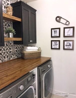Beautiful Laundry Room Tile Design06