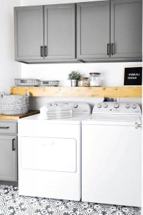 Beautiful Laundry Room Tile Design41