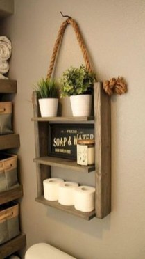 Best Farmhouse Bathroom Remodel31