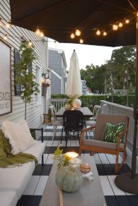 Exciting Small Balcony Decorating For Farmhouse20