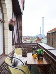 Exciting Small Balcony Decorating For Farmhouse35