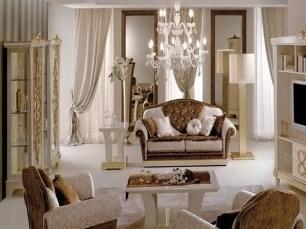 Luxurious And Elegant Living Room Design Ideas05