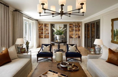Luxurious And Elegant Living Room Design Ideas11