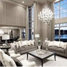 Luxurious And Elegant Living Room Design Ideas15