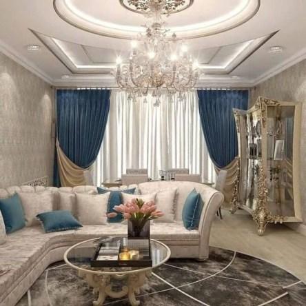Luxurious And Elegant Living Room Design Ideas21