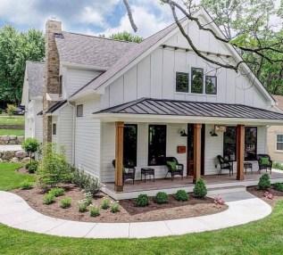 Marvelous Farmhouse Exterior Design Ideas13