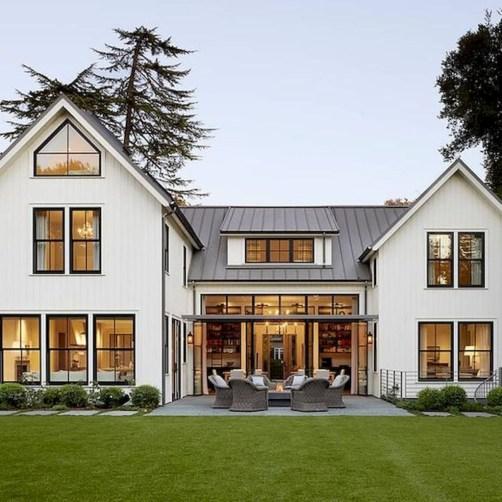 Marvelous Farmhouse Exterior Design Ideas19