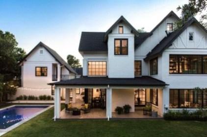 Marvelous Farmhouse Exterior Design Ideas21