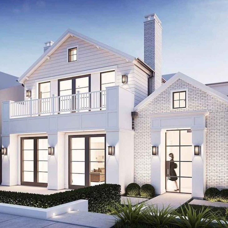 Marvelous Farmhouse Exterior Design Ideas42