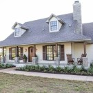 Marvelous Farmhouse Exterior Design Ideas44