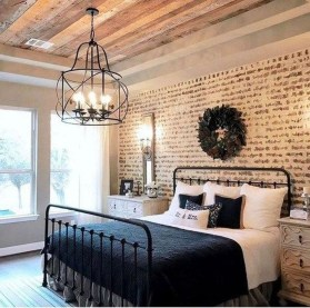 Modern Bedroom For Farmhouse Design20
