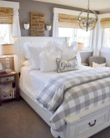 Modern Bedroom For Farmhouse Design33
