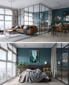 Modern Glass Wall Interior Design Ideas40