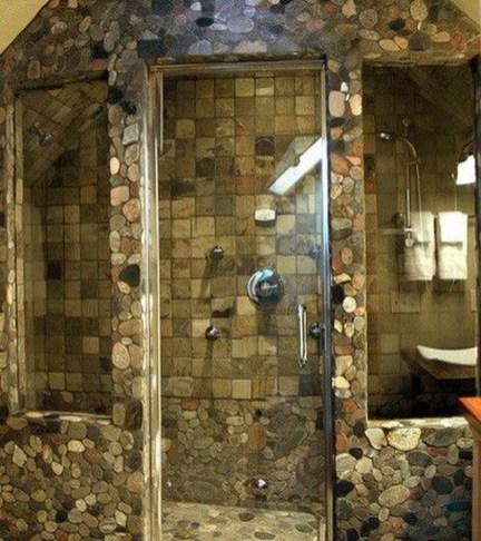 Simple Stone Bathroom Design Ideas01