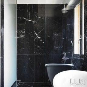 Simple Stone Bathroom Design Ideas27