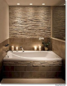 Simple Stone Bathroom Design Ideas29