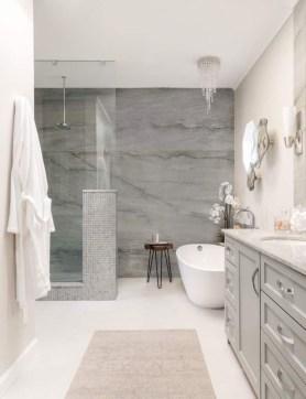 Simple Stone Bathroom Design Ideas32