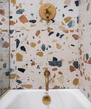 Simple Stone Bathroom Design Ideas40