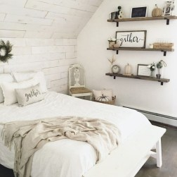 Smart Modern Farmhouse Style Bedroom Decor09