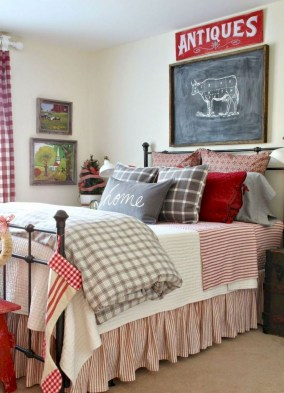 Smart Modern Farmhouse Style Bedroom Decor14