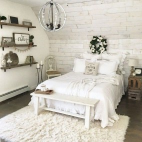 Smart Modern Farmhouse Style Bedroom Decor22