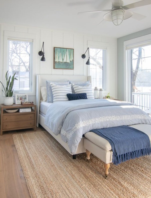 Smart Modern Farmhouse Style Bedroom Decor44