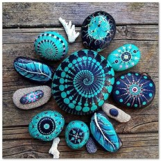 Smart Painted Rock Ideas Home Decoration14