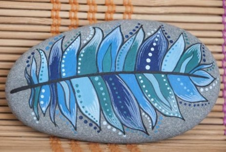 Smart Painted Rock Ideas Home Decoration19