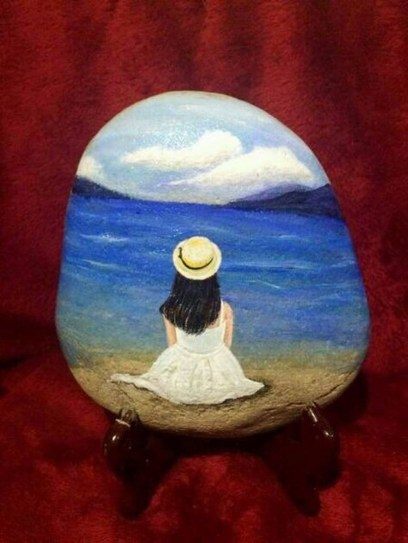 Smart Painted Rock Ideas Home Decoration23